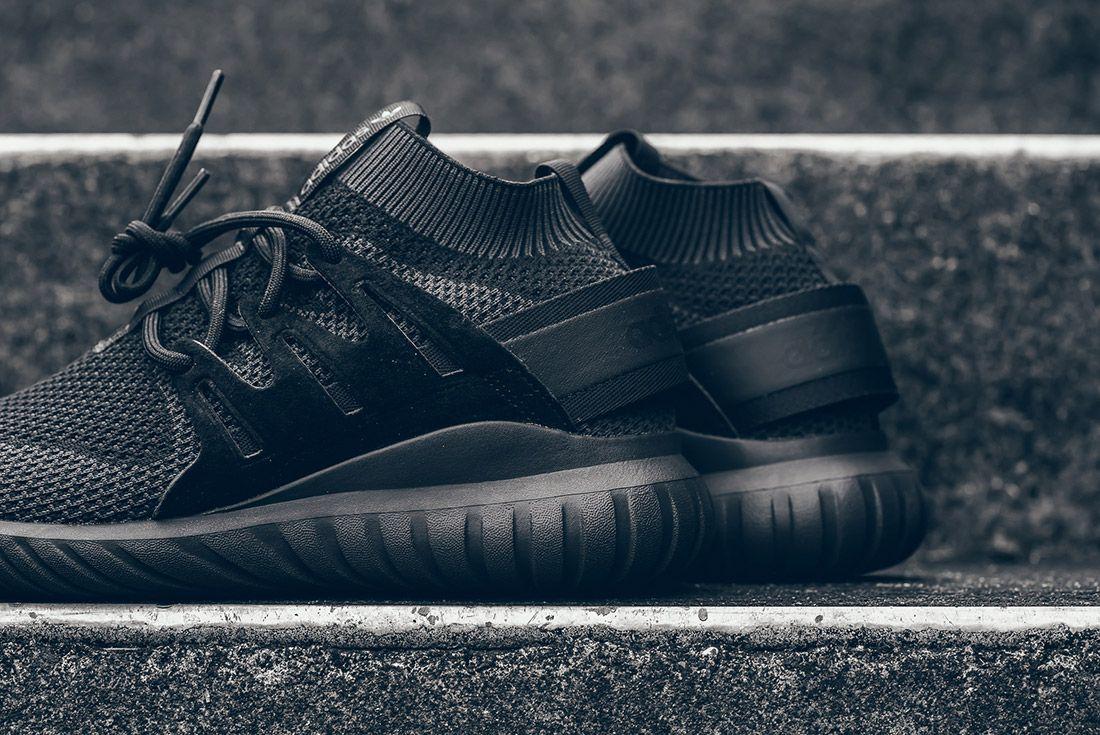 Adidas Tubular Nova Primeknit Pk Triple Black 1