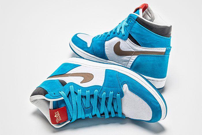 The Shoe Surgeon Air Jordan 1 Twix Cookies And Cream Heel 2