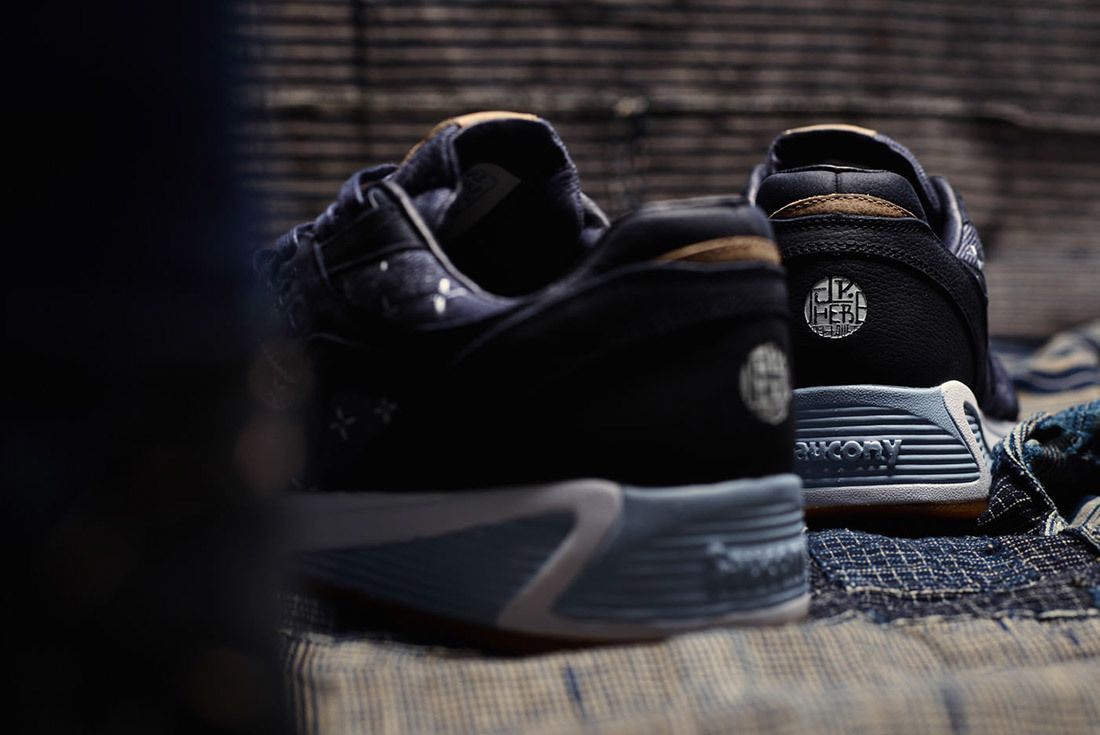 Up There Store Saucony Grid 8000 Sashiko Sneaker Freaker 5