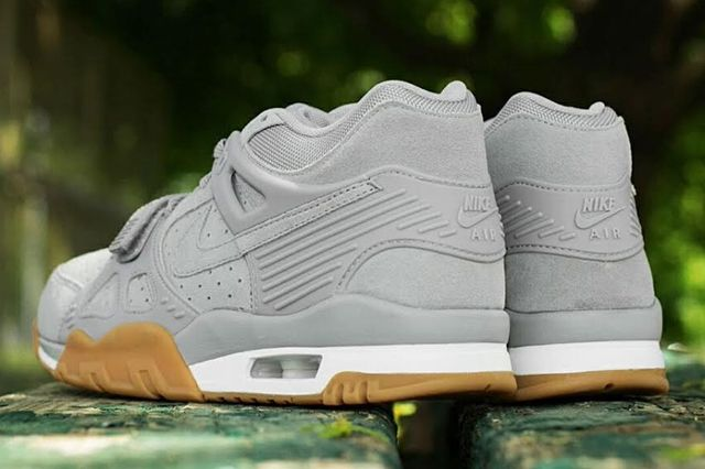 Nike Air Trainer 3 Grey Suede Gum 2