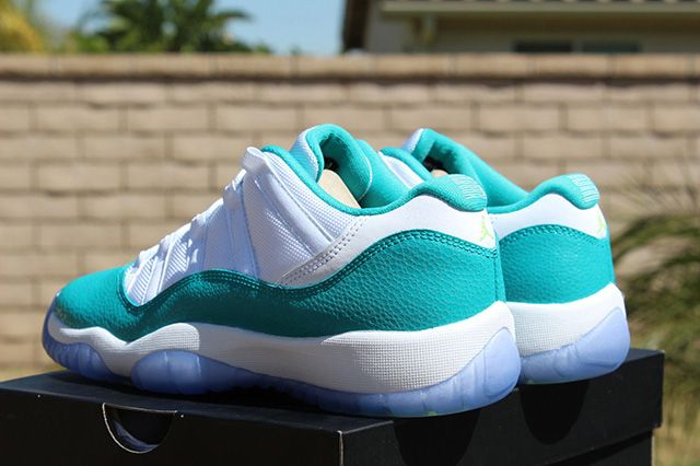 Air Jordan 11 Low Turbo Green 2