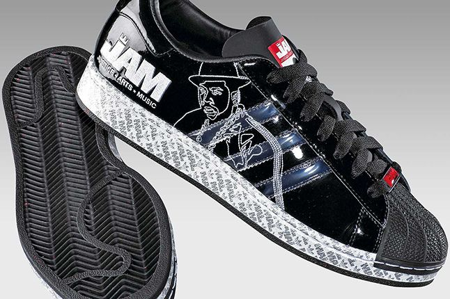 Run Dmc Black Adidas
