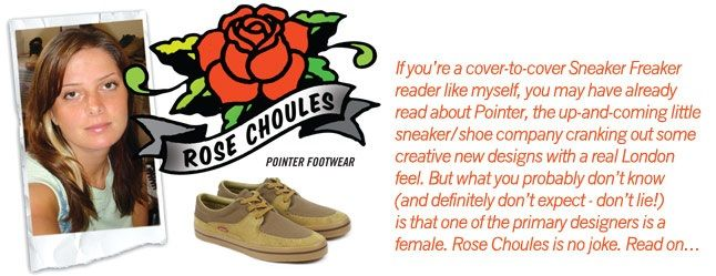 Female Sneaker Fiends Rose Choules 2