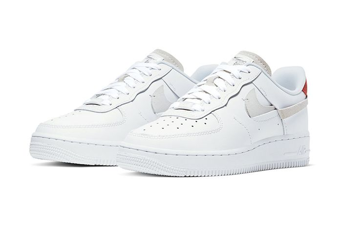 Nike Air Force 1 Inside Out White 898889 103 Release Date Pair