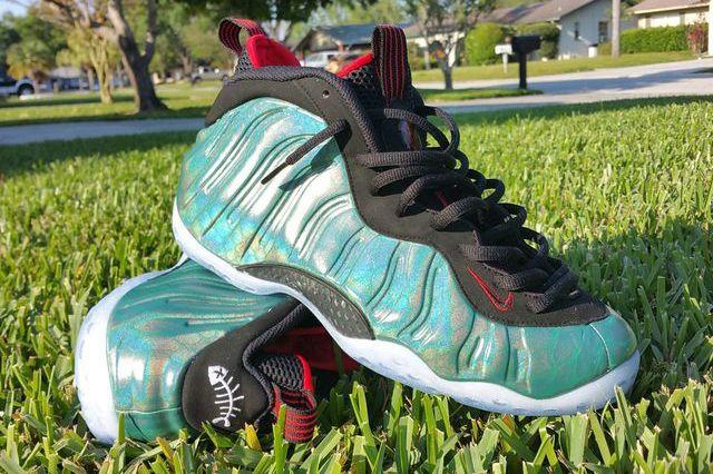 Gone Fishing Nike Foamposites 3