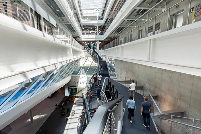 Adidas Hq Arena Stairs