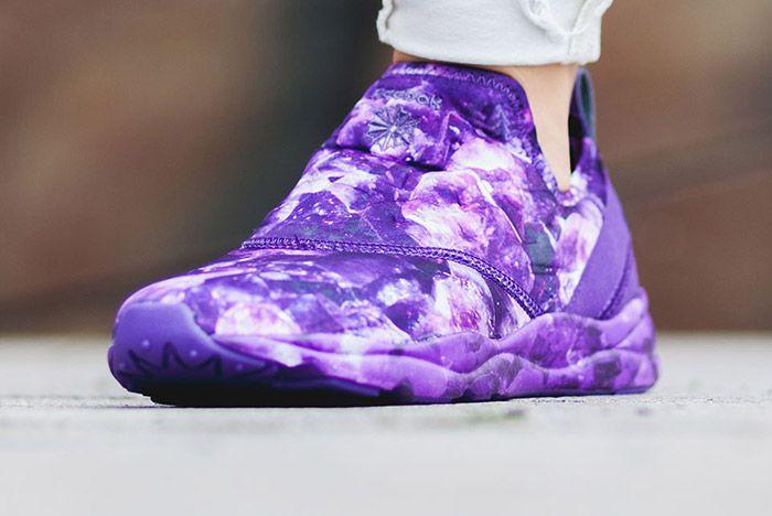 Reebok Furylite Slip On Purple Rose Womens 2