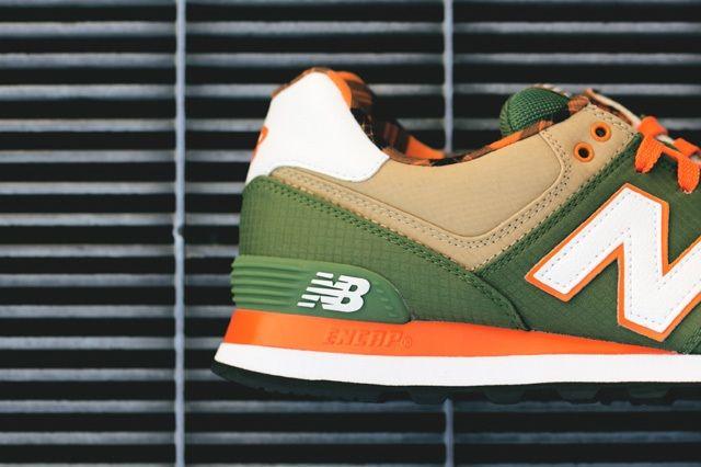 New Balance 574 Green Tan 3