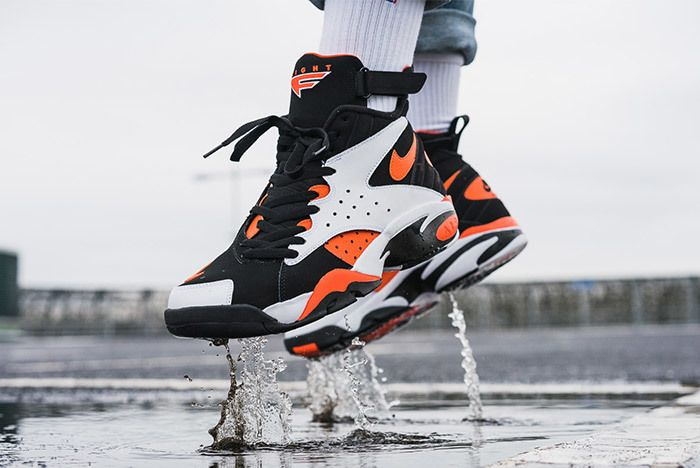 Nike Air Maestro Ii Rush Orange 1