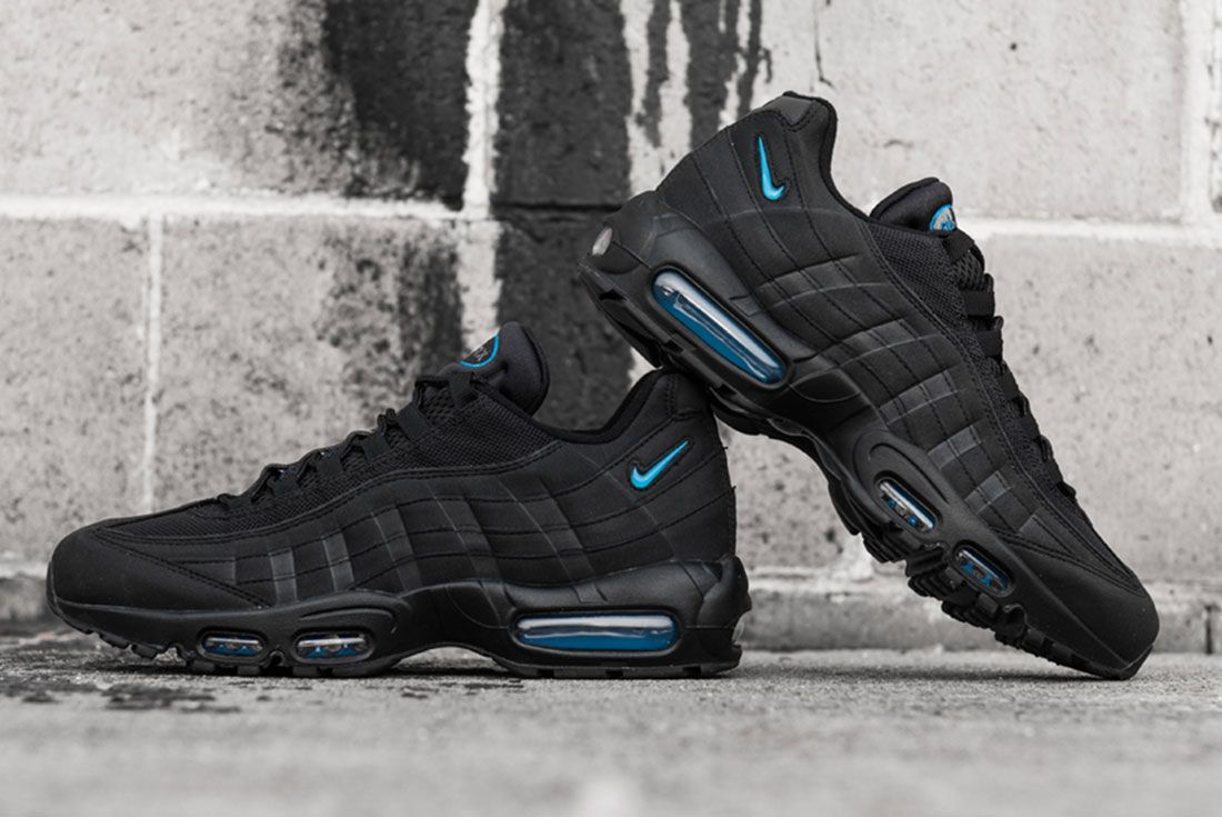 Nike Air Max 95 Imperial Blue Concrete Mid
