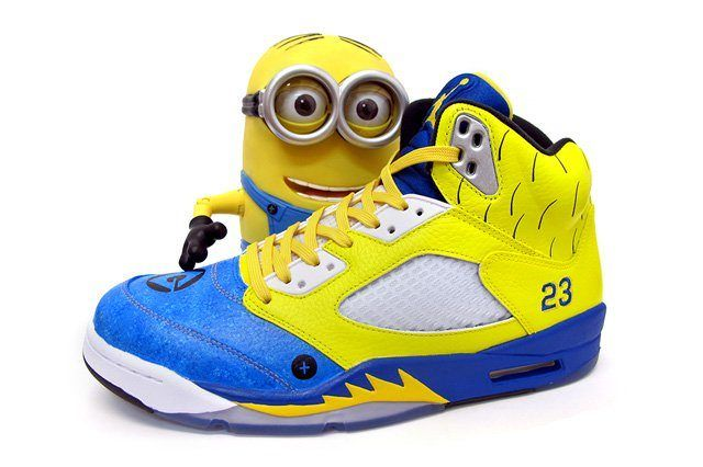 Sekure D Air Jordan V Custom Air Minion 1