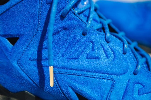 Nike Lebron 11 Ext Blue Suede 6