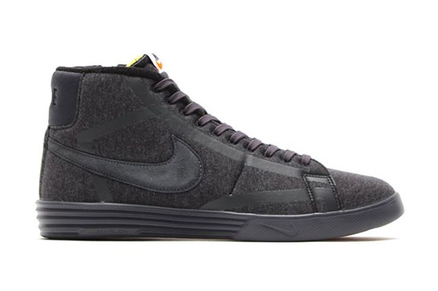 Nike Lunar Blazer Tech Fleece Black Anthracite