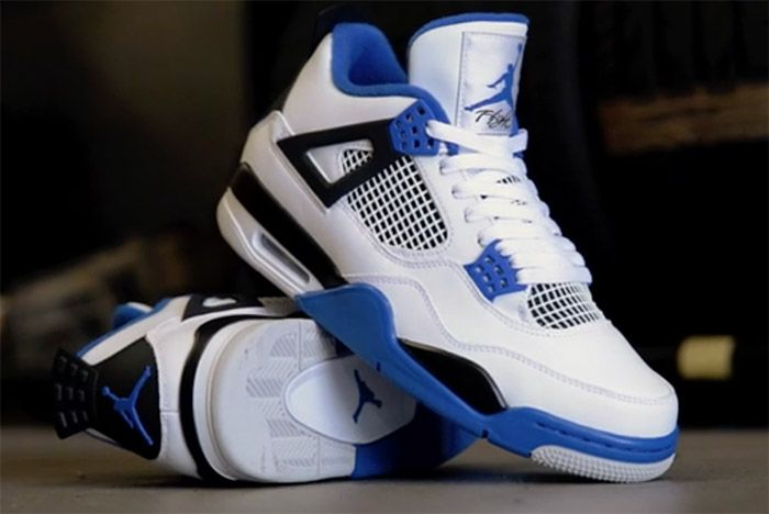 Air Jordan 4 Motorsport 2017 Retro 2