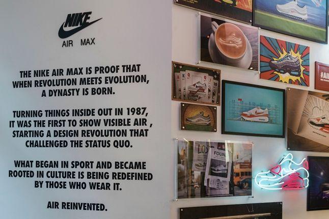 Matt Stevens Air Max Neon Wall 1