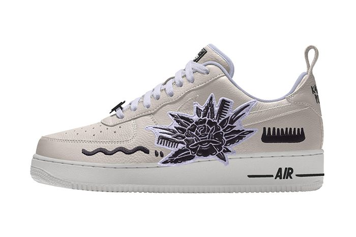 Karabo Poppy Nike Air Force 1 Low By You White Release Date Lateral