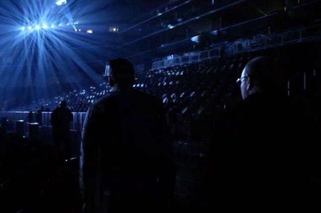 Jay Z Barclays Arena Dark 1