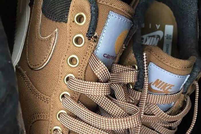 Carhartt Wip Nike Air Force 1 Low First Look 1