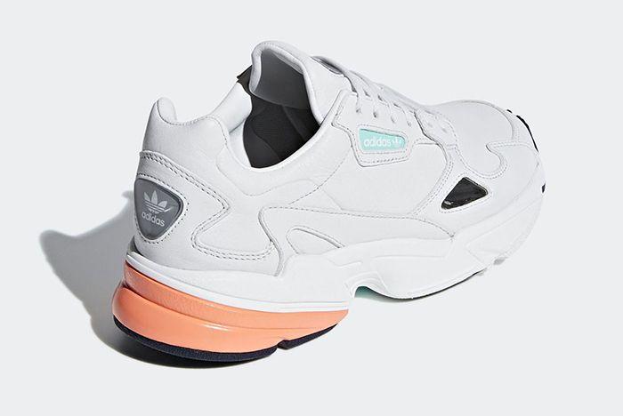 Adidas Falcon White Leather 3