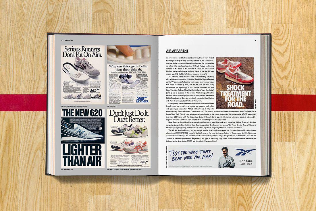 Sneaker Freaker Soled Out Book Spread Brands VS Nike