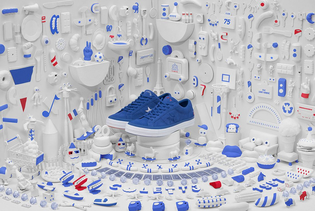 Colette X Converse X Club 75 Trois Collection
