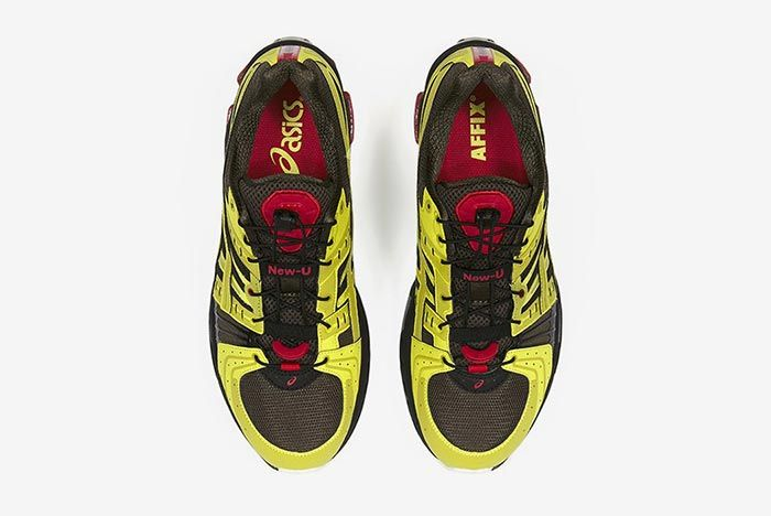 Affix Works Asics Gel Kinsei Yellow Top Shot