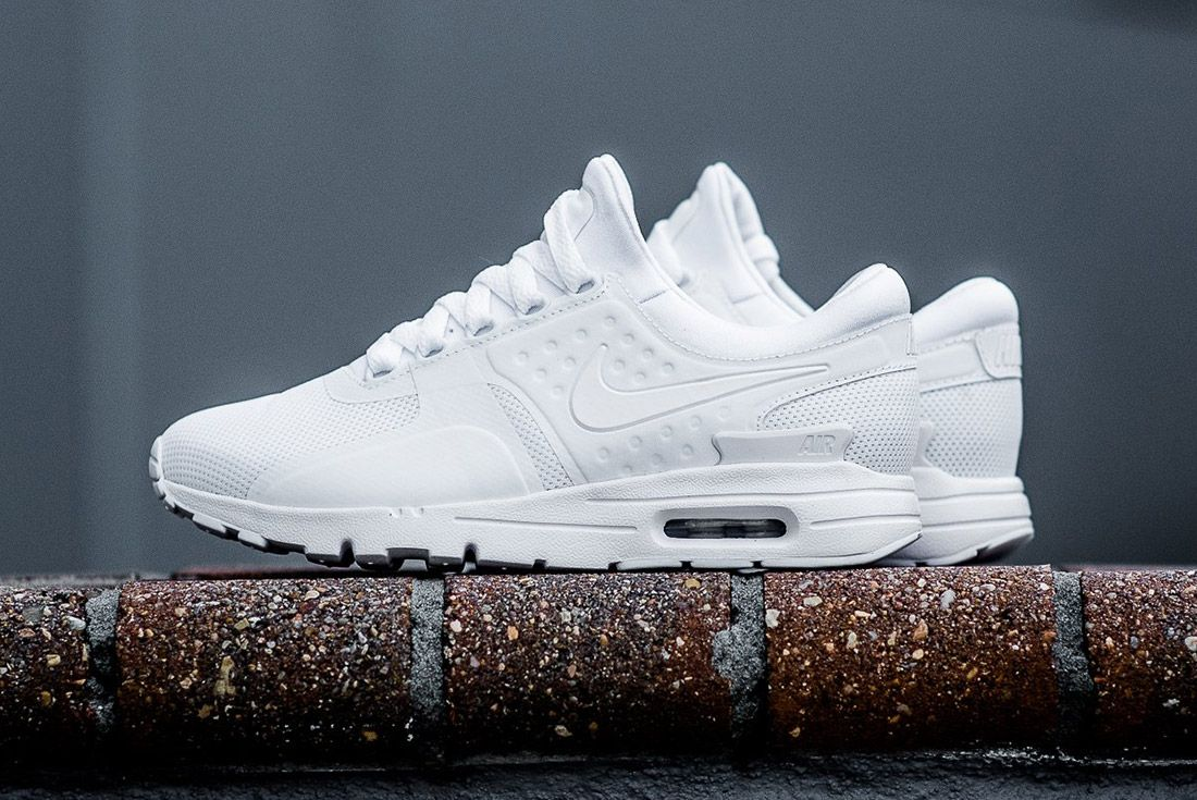 Nike Air Max Zero Triple White 7