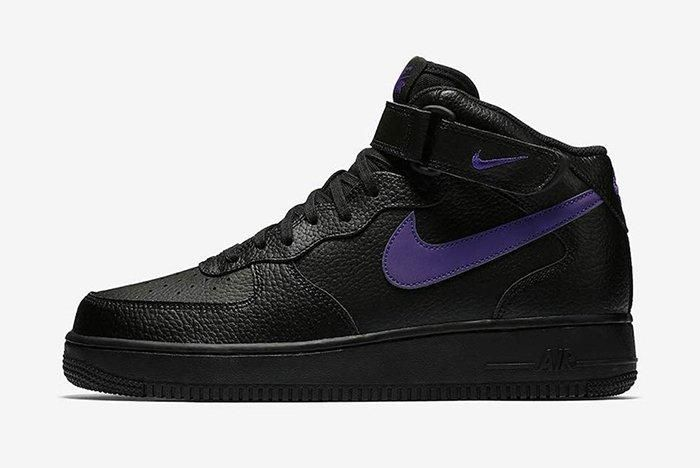 Nike Air Force 1 Mid Reflective Swoosh Pack 7