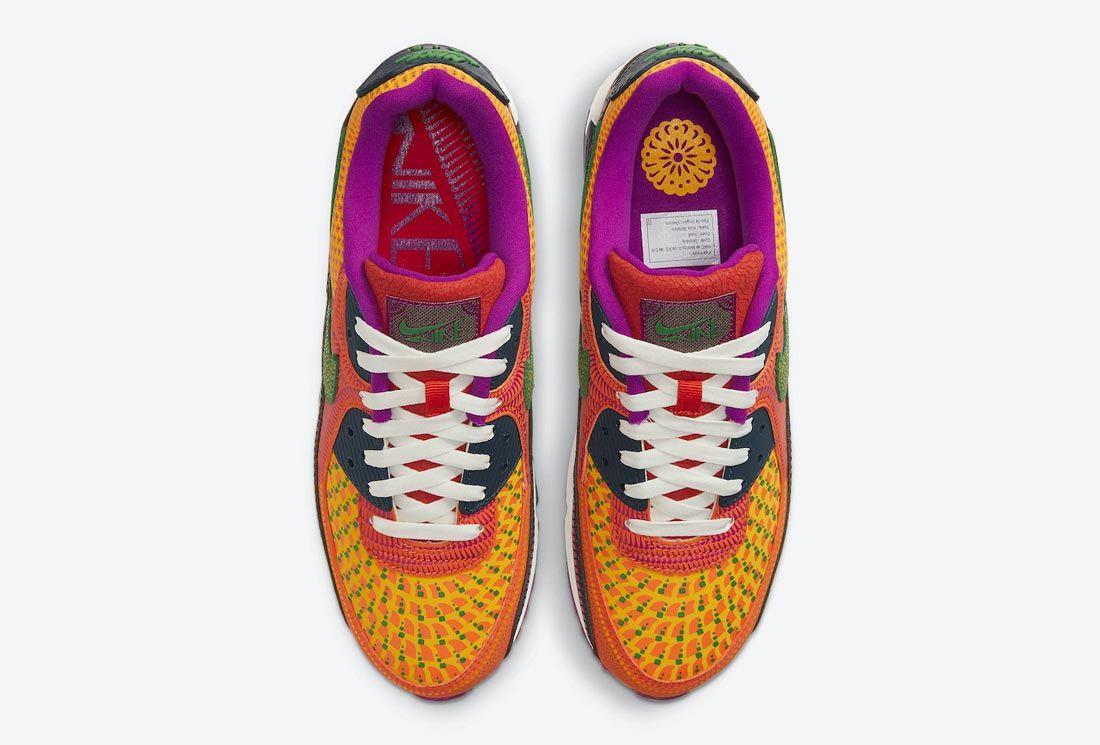Closer Look: The Nike Air Max 90 Día de Muertos - Sneaker Freaker