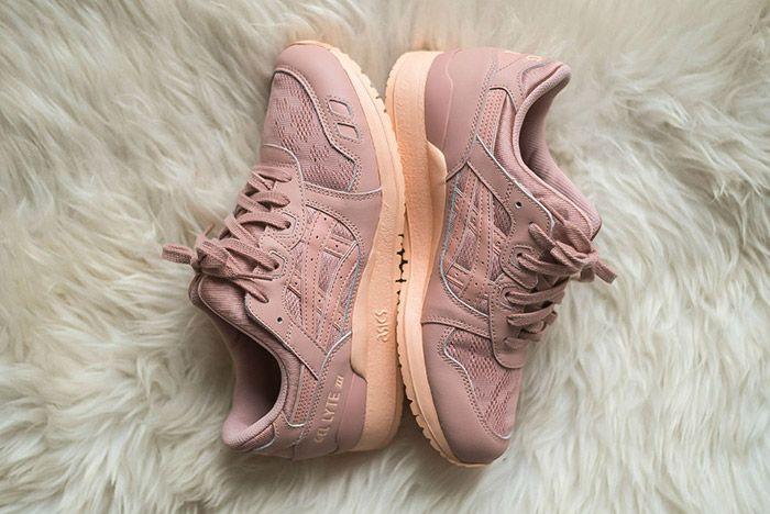 Womens Asics Gel Lyte Iii Peach Pink 1