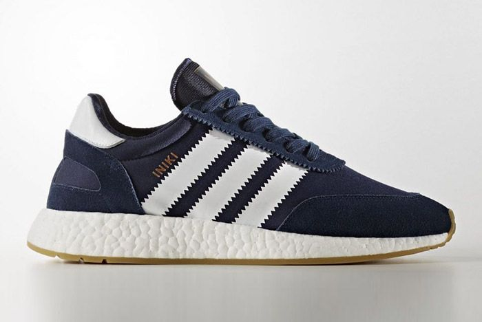 Adidas Iniki Runner Boost Navy Blue