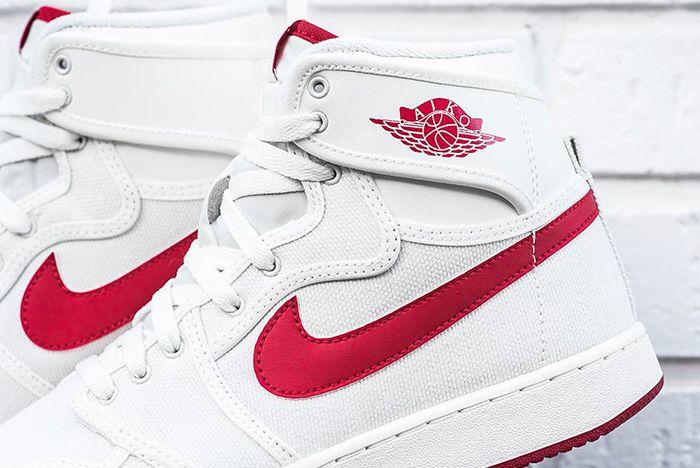 Air Jordan 1 Ko High White Red Sail Og
