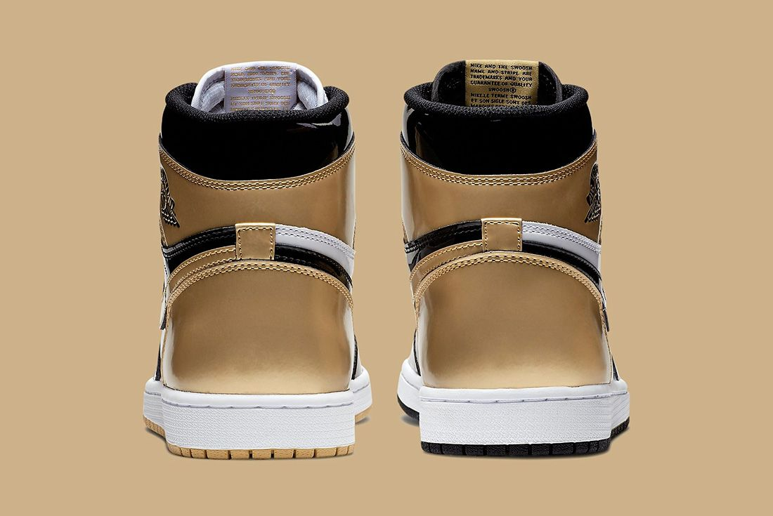 44 Gold Top 3 Air Jordan 1 Sneaker Freaker