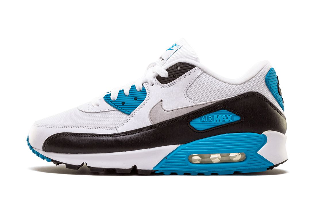 Nike Air Max 90 Laser Blue 325018 108 Lateral