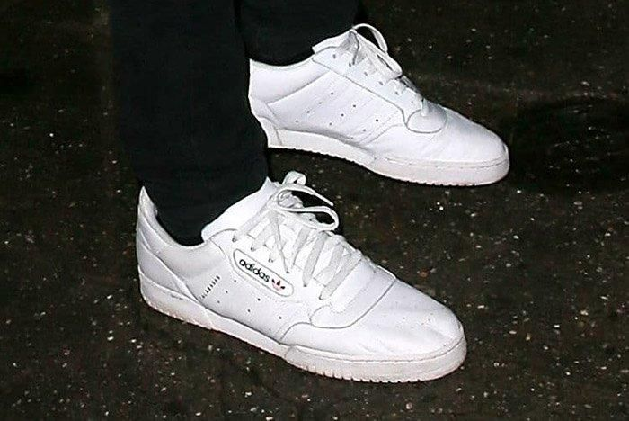 Adidas Calabasas Powerphase White Yeezy 1
