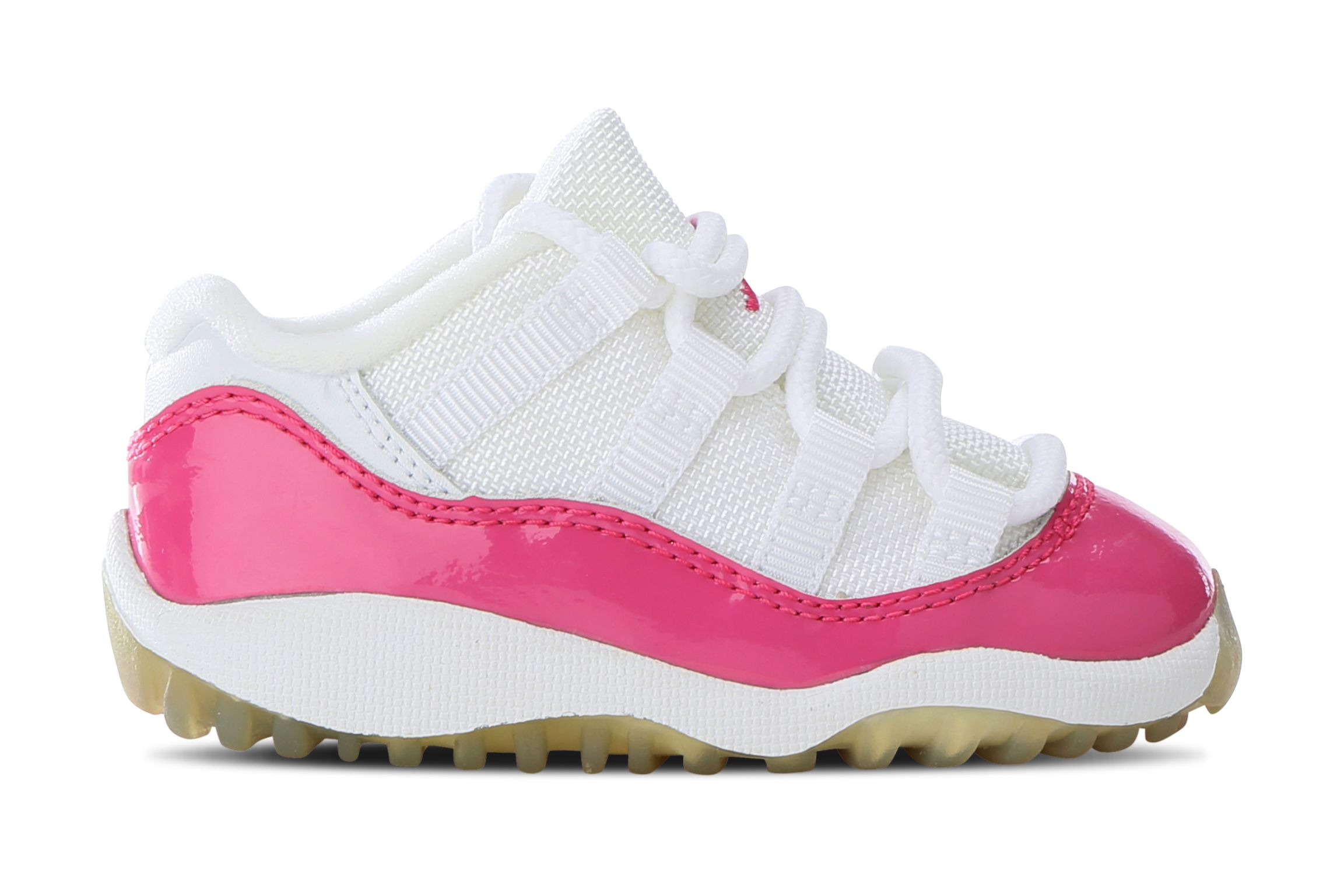 Busy Leung Air Jordan 11 Kids Pink Patent