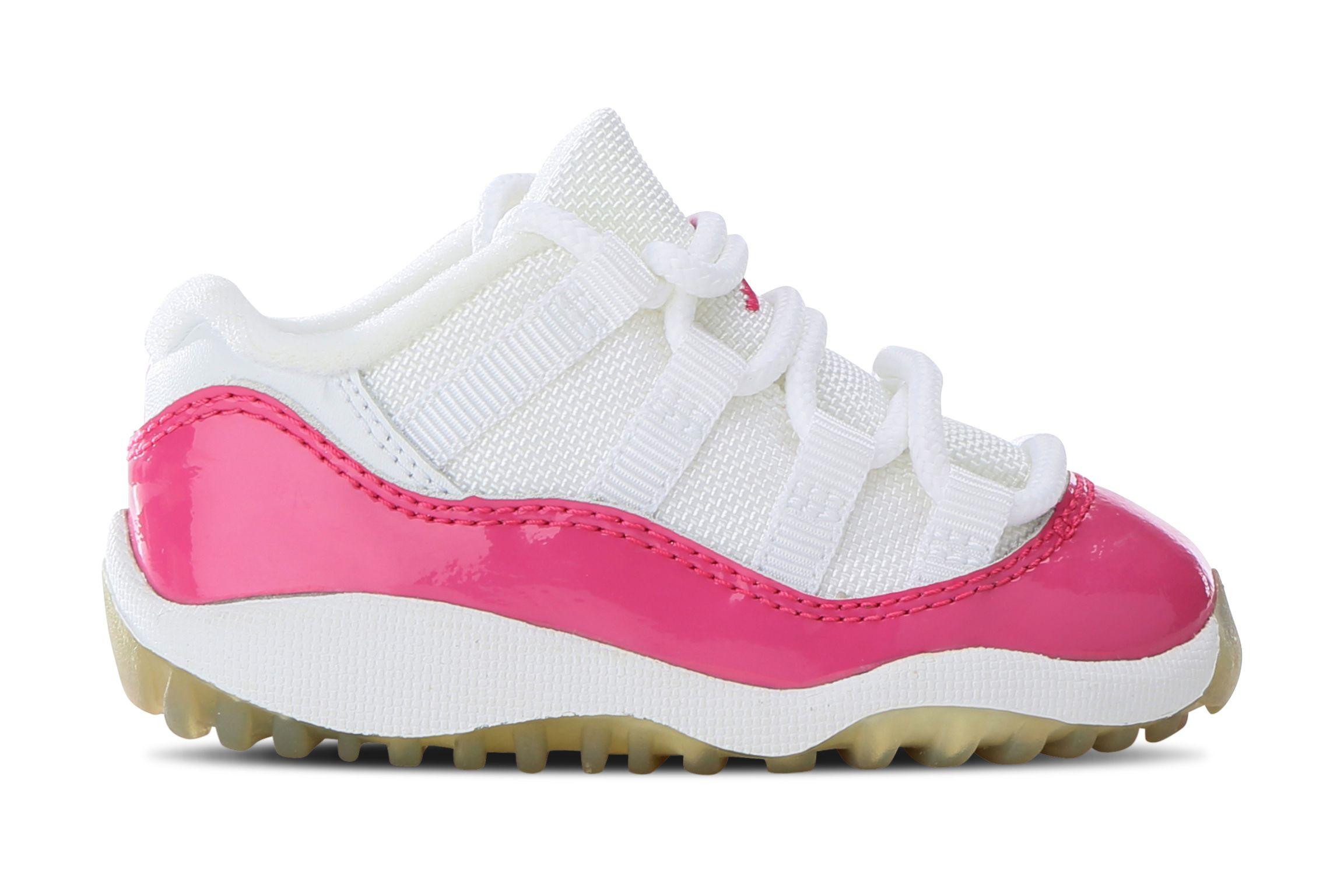 Busy Leung Air Jordan 11 Kids Pink Patent