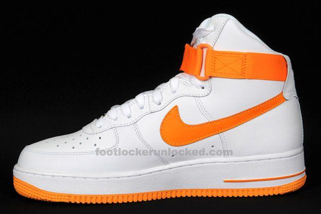 Nike Air Force 1 Hi Vivid Orange 04 1