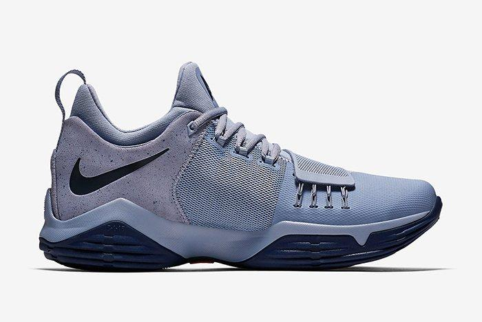 Nike Pg1 Glacier Greymidnight Navy 2