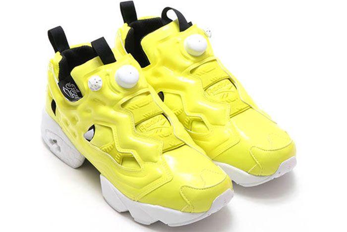 Reebok Insta Pump Fury Gloss Yellow 3