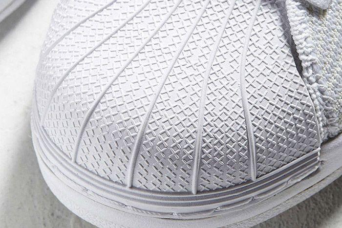 Adidas Superstar Bounce Primeknit Triple White 4