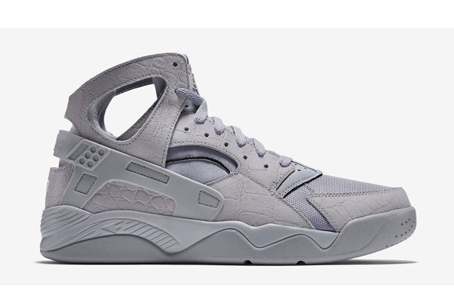 Nike Huarache Flight Grey Croc 6