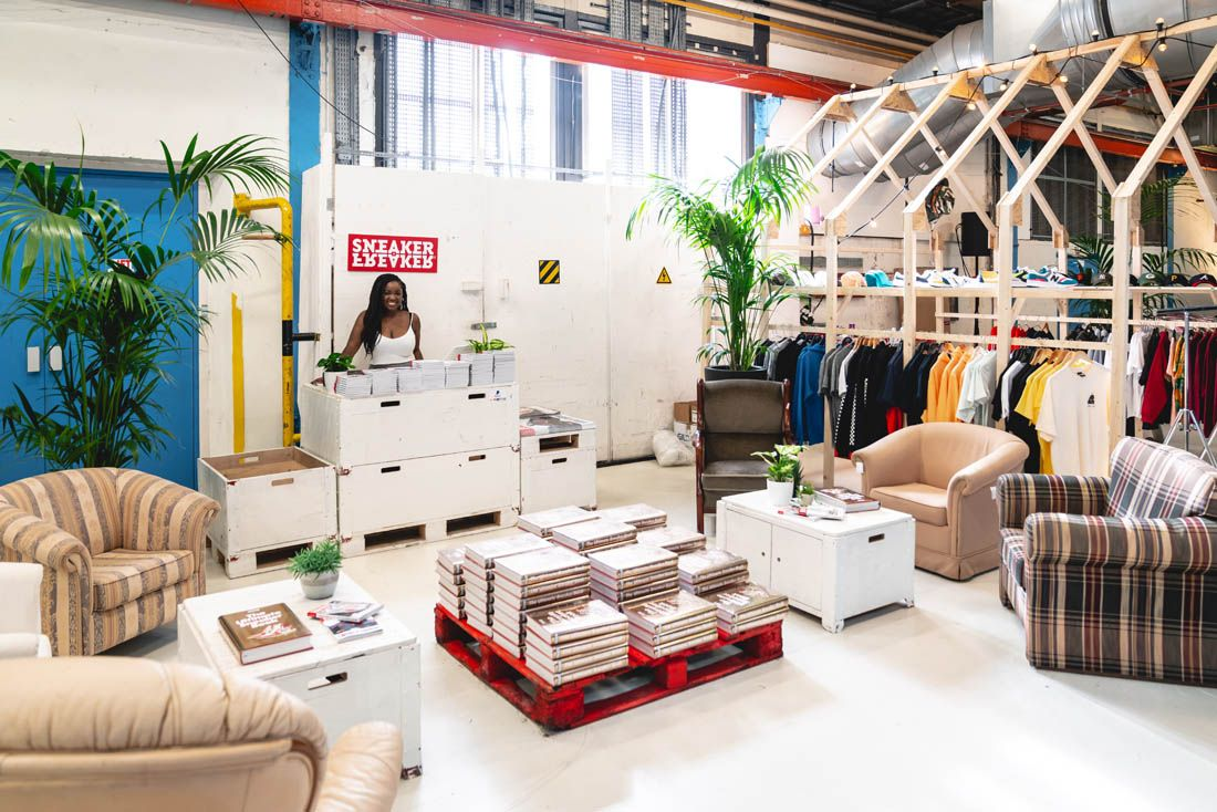 Sneakerness Amsterdam 2019 Event Recap 42 Booth Empty