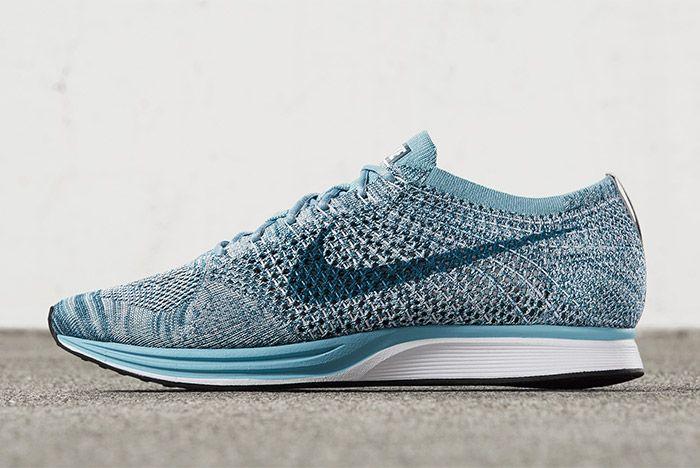 Nike Flyknit Racer Macaron Pack Blueberry