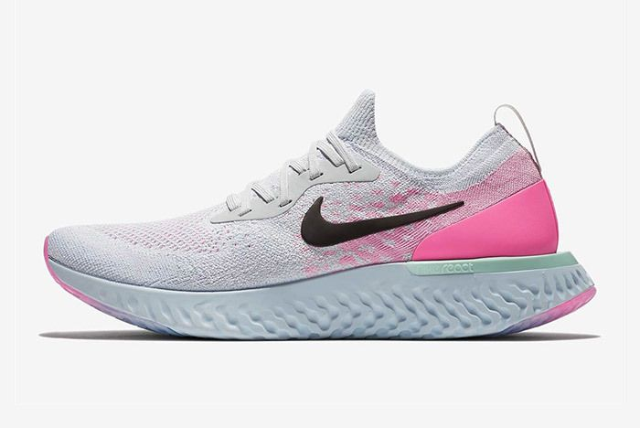 Nike Epic React Womens Pure Platinum Pink 5
