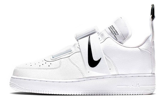 Nike Air Force 1 Utility White Left