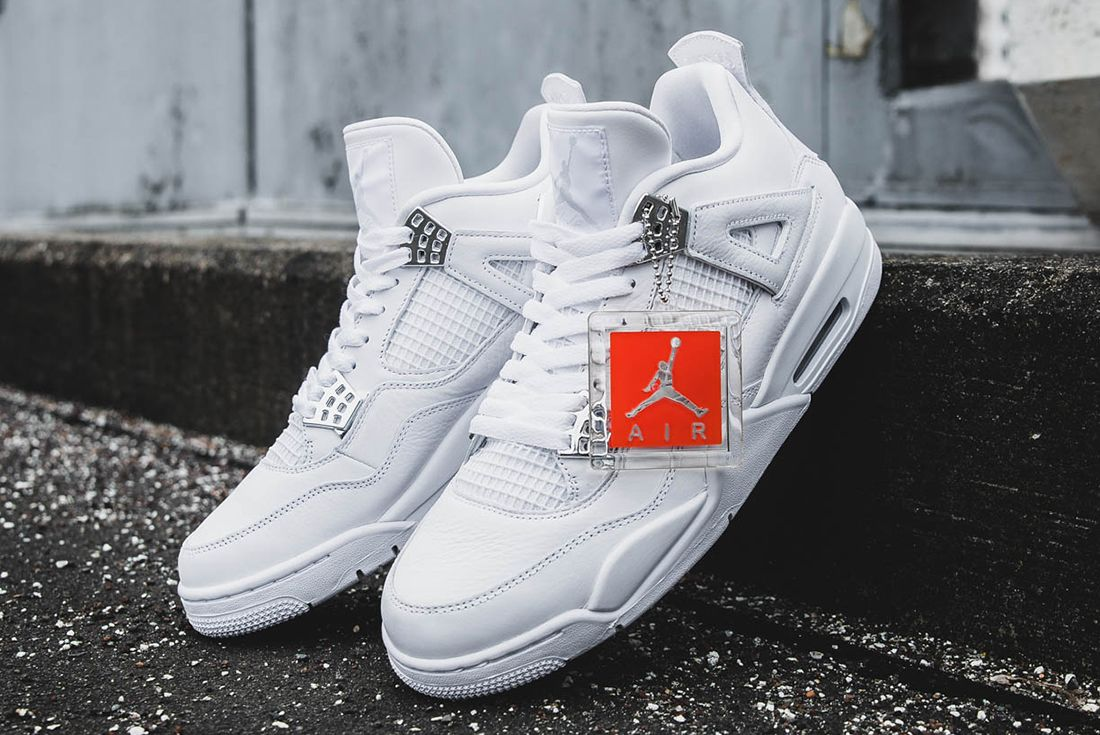 Up Close With The Air Jordan 4 Pure Money5