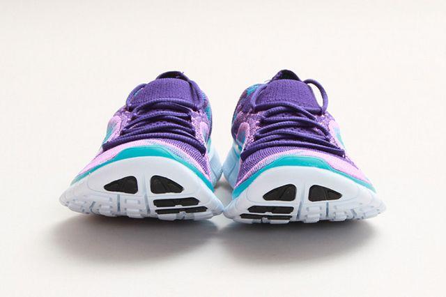 Nike Free Flyknit Grape 1