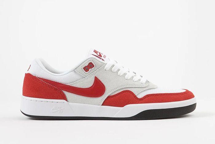 Nike Sb Gts Return Air Max 1 Sport Red Lateral