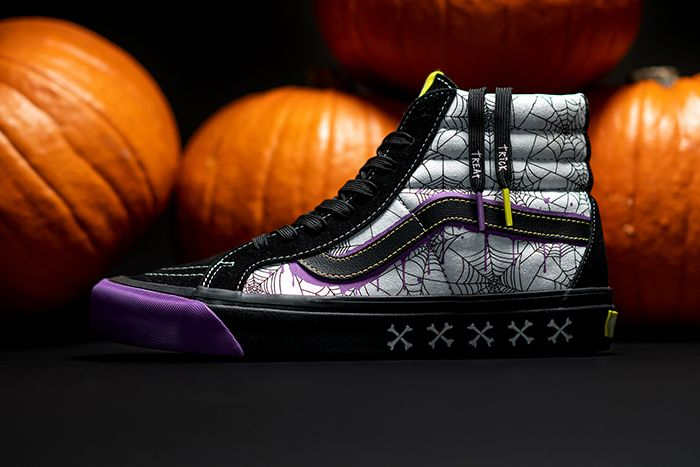 Size Vans Sk8 Hi Halloween 2019 Release Date Lateral